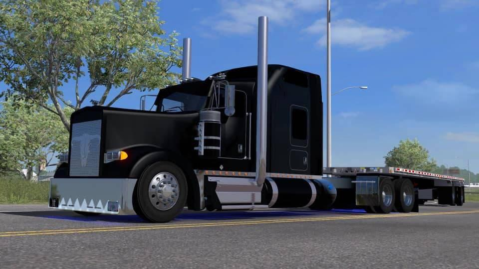 Kenworth W900L Custom by BiggDogg 1.35.x