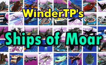 WinderTP's Ships of Moar – Custom-Modeled Ships