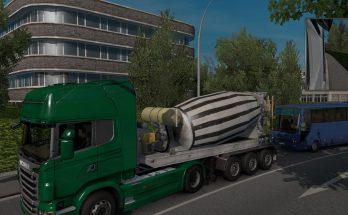 Cement Mixer Jobs & Traffic ETS 2 1.35.x
