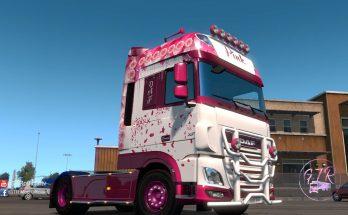 DAF XF Euro 6 Pink 1.35.x