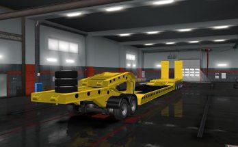 Flatbed Trailer 4 axles v1.6