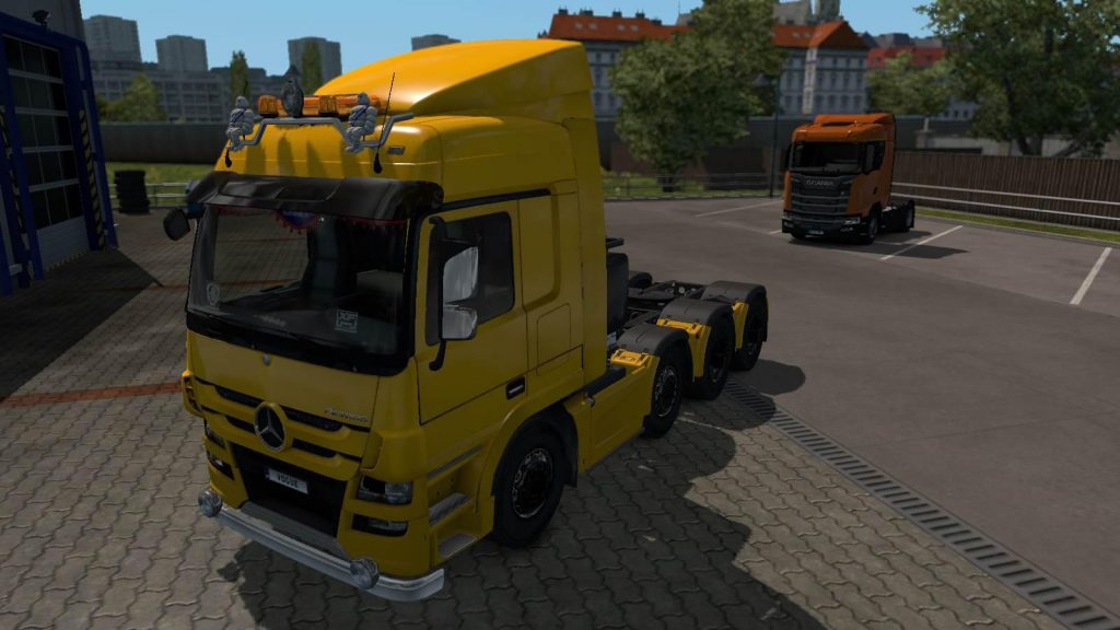 Hybride truck for Multiplayer v1.0