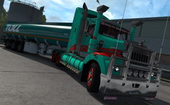Kenworth T408 SAR v 2.1 1.35.x + DX11