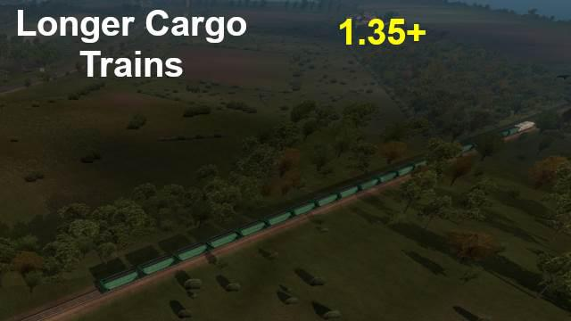 Long Freight Train in Europe v1.0