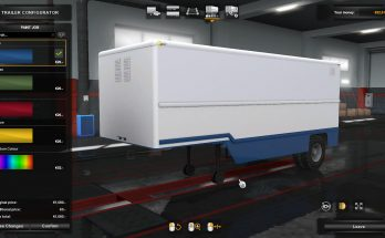 Pack trailers Odaz and GKB in the property v1.0