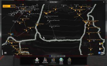Save Game Profile For Mapa Norte Brasil ETS2 1.35