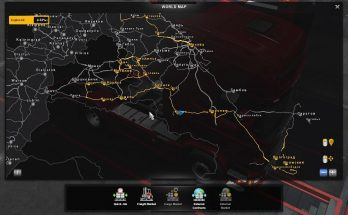 Save Game Profile For RUSSIAN MAP v1.9.0 ETS2 1.35.x