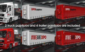 XPO Logistics Paintjob Pack v1.0