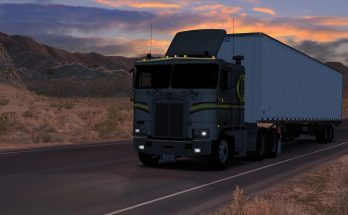 Kenworth K100e Detroit Diesel Sound Pack 1.35