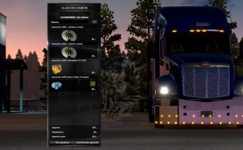 Peterbilt 579 double Bumper (Works in the multiplayer) 1.35.x