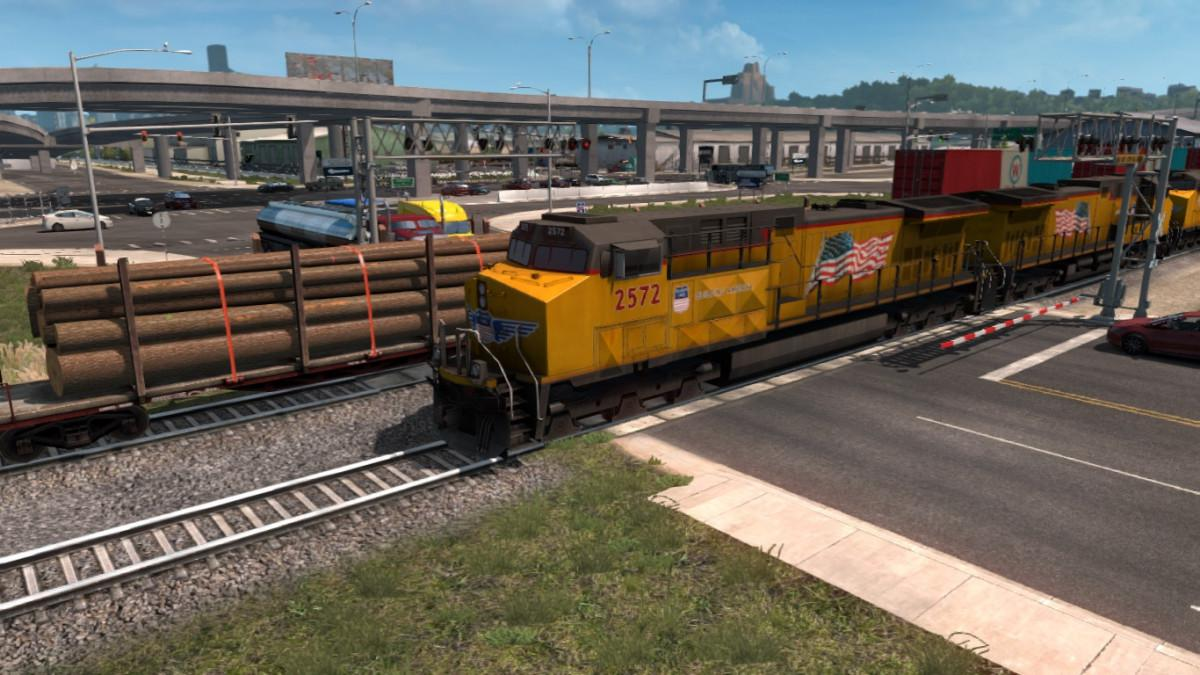 Short Trains Addon for Improved Trains v3.1 for ATS 1.35.x