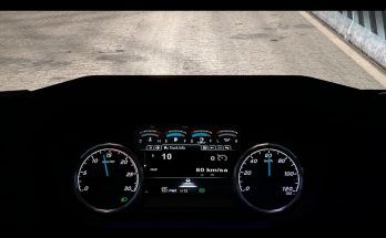 Dashboard Improvement For Ford F-Max v1.1