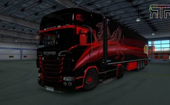 Griffin skin for Scania RJL 1.0