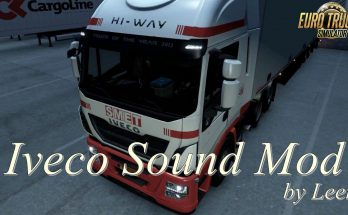 Iveco Sound Mod by Leen 1.35.x