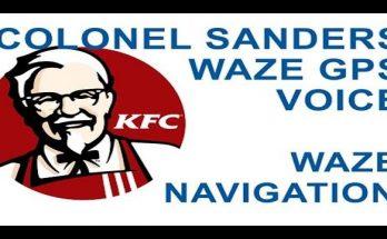 KFC Colonel Voice For Your GPS Navigation v1.0