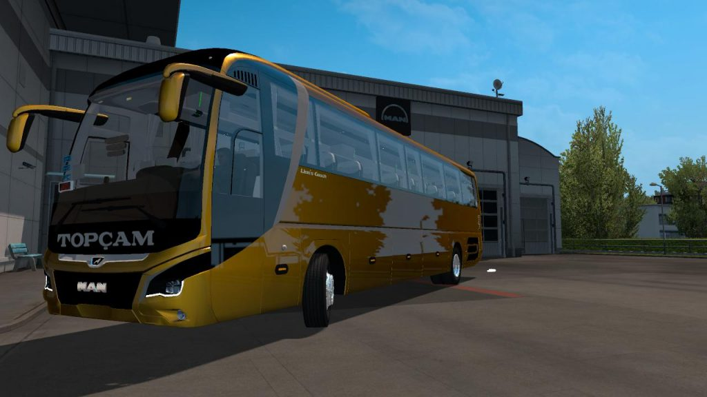 NEW BUS – MAN COACH – ETS2 1.35.x v1.1
