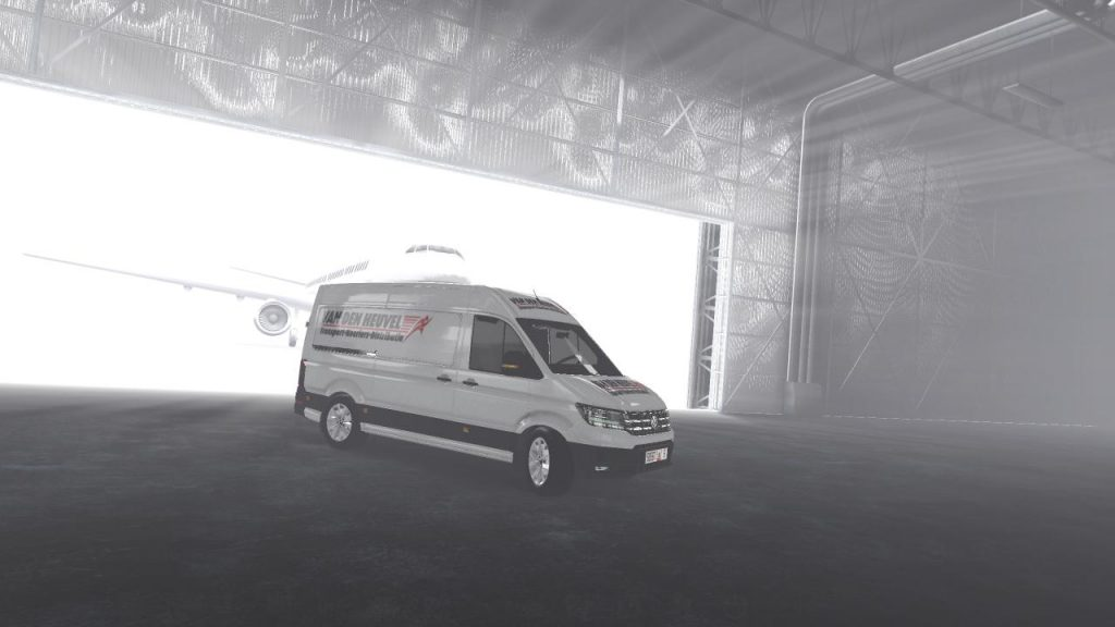 Skins van den huevel for volkswagen new crafter v1.0.1