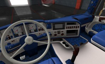 Custom Danish Interior for Scania RJL v1.0 1.35