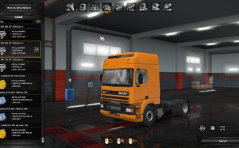 Daf 95 Ati V8 Engine Sound Pack 1.35