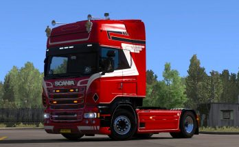 Scania RJL Topline Skin 1.35.x