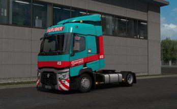 Gruber Logistics Skin for Renault Range T 1.35.x