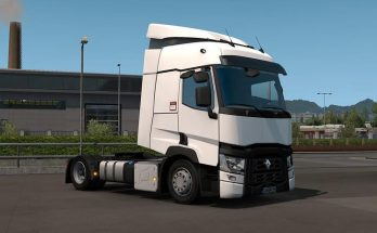 Realistic exhaust cover for Renault Range T v1.0