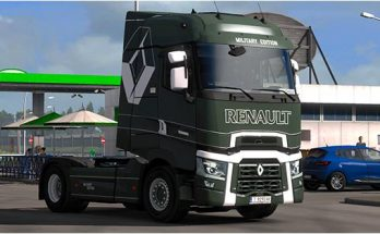 Renault T Military Edition | Truck Skin v1.0