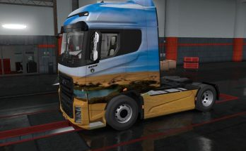 SKINS SAHARA FOR FORD F-MAX 1.35
