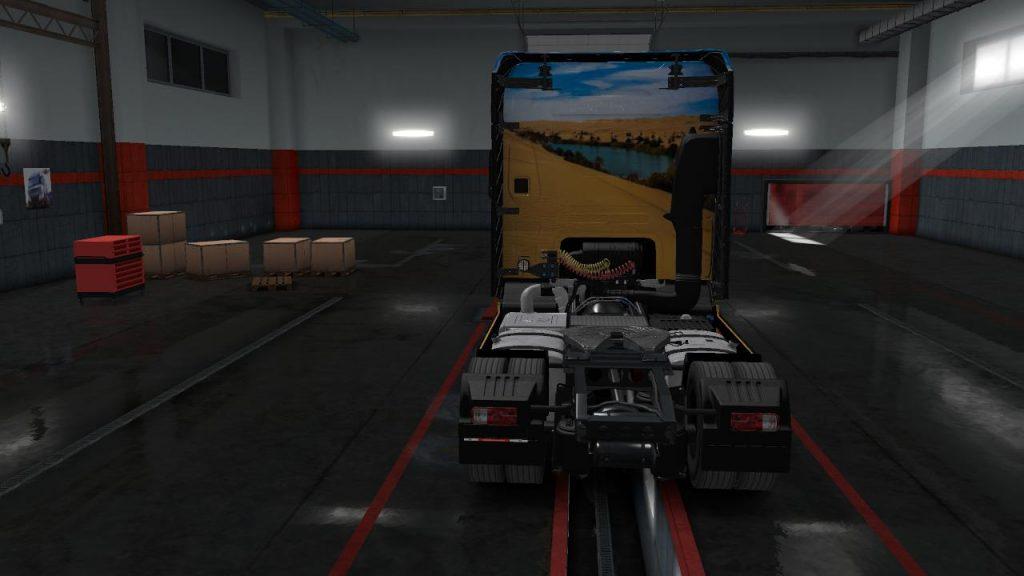 SKINS SAHARA FOR FORD F-MAX 1.35