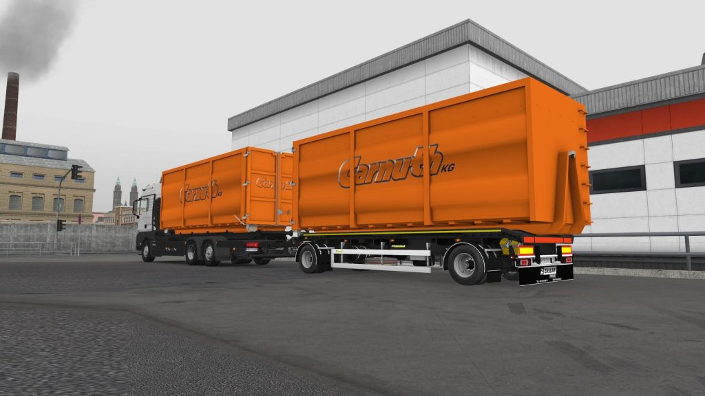 DIN Containers for MADster MAN TGX E6 v1.0