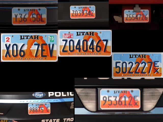 Improved licence plates v1.4