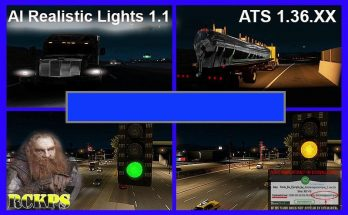 AI REALISTIC LIGHTS V1.1 FOR ATS 1.36.X