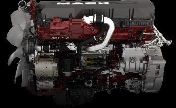 MACK MP7-8 SOUNDS AND REAL ENGINES TRANSMISSION V1.0