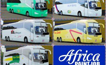 Africa Paintjob - PackSkins - Buses Morocco Irizar i6 - 1.36