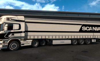 Black and White Scania Streamline Topline v1.0