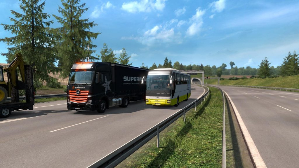Bus Traffic Pack Speed v1.0