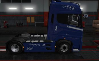 Ford F-Max Diamond F Paintjob v1.0