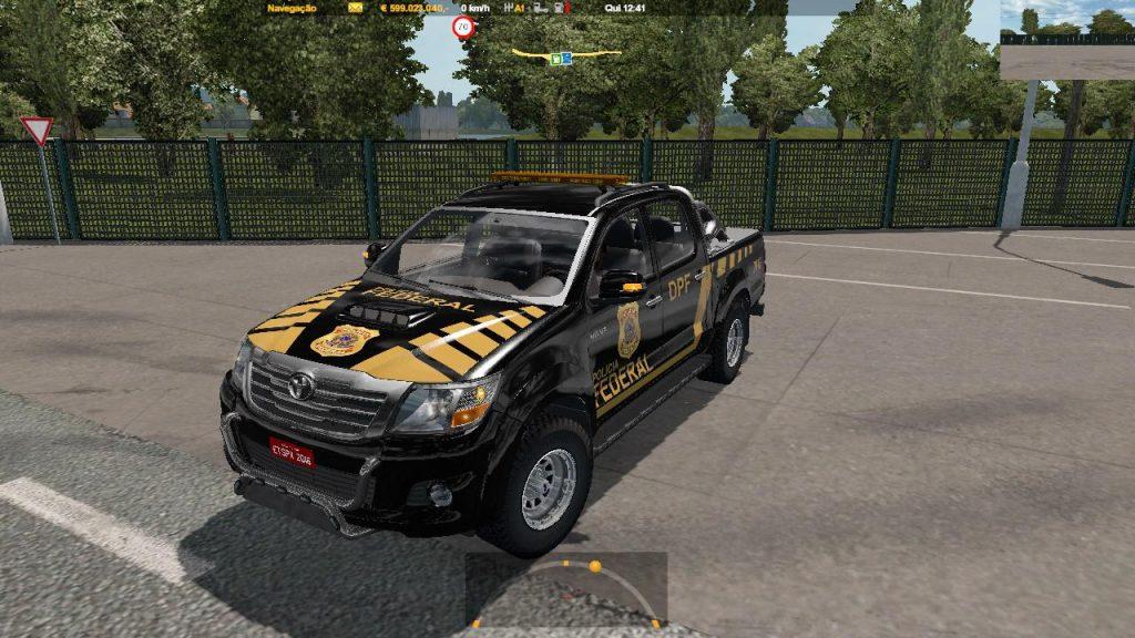 Hilux Etspx policia federal Brazil v1.2