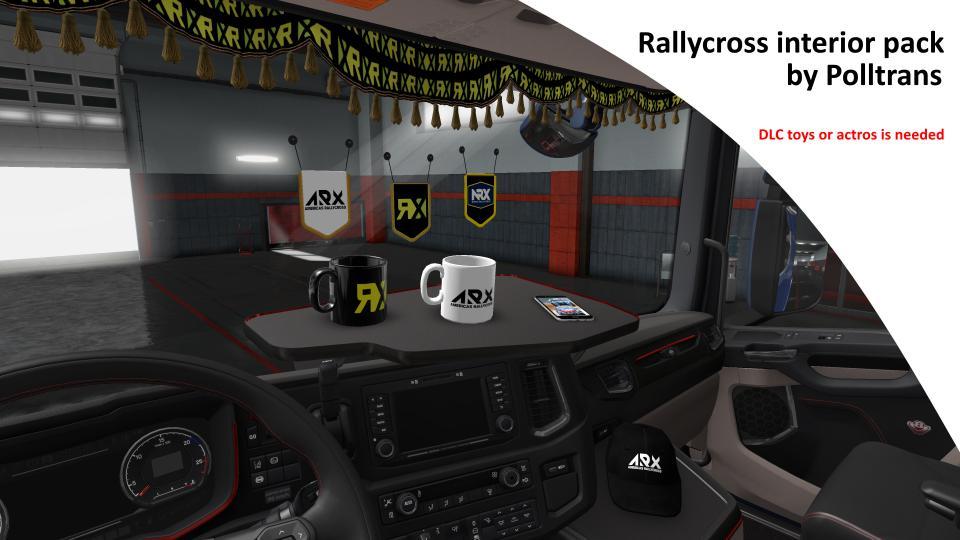 Rallycross interior pack