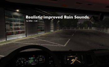 Realistic Improved Rain Sounds - ETS2 1.35 & up