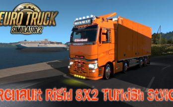 Renault Rigid 8x2 Turkish Style 1.36