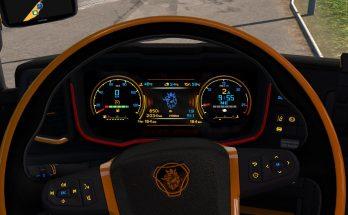 Scania Next Gen R&S Black - Yellow interior 1.35