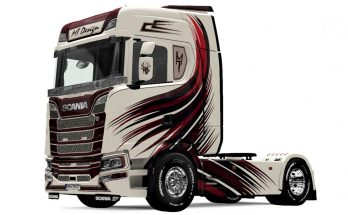 Scania S MT Design skin v1.0
