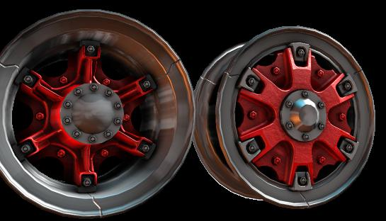 Trilex Style Rims 1.35 - 1.36