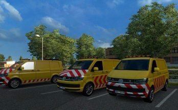 VW Escort Vans in Traffic 1.36.x