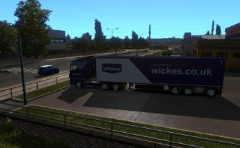 Wickes UK Shop Paintjob for ETS2 1.35.x and 1.36.x