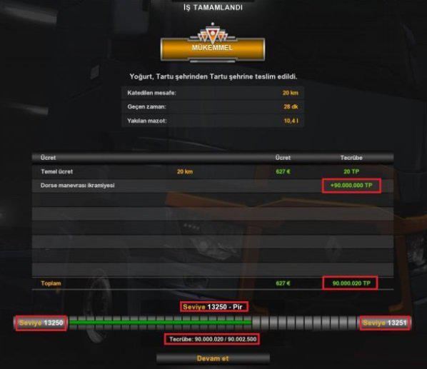 XP & Money Mod 1.36.x