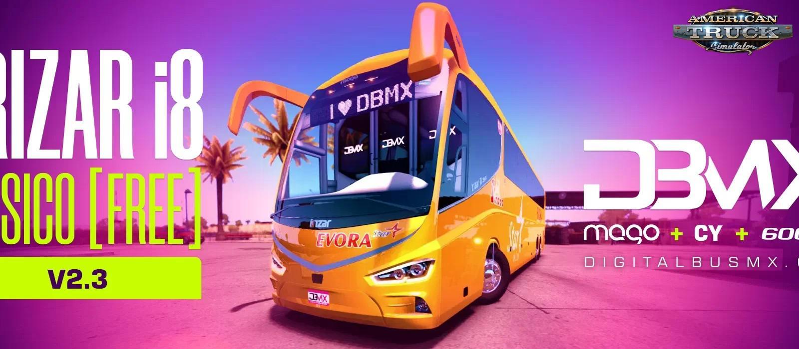 BUS IRIZAR I8 + INTERIOR V2.3 1.36.X
