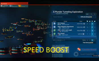 Complete Fleet Missions instantly/A lot faster