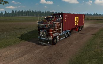 D-TEC 40FT. CONTAINER TRAILER ATS 1.36